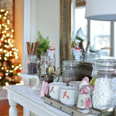 Simple Hot Cocoa Station