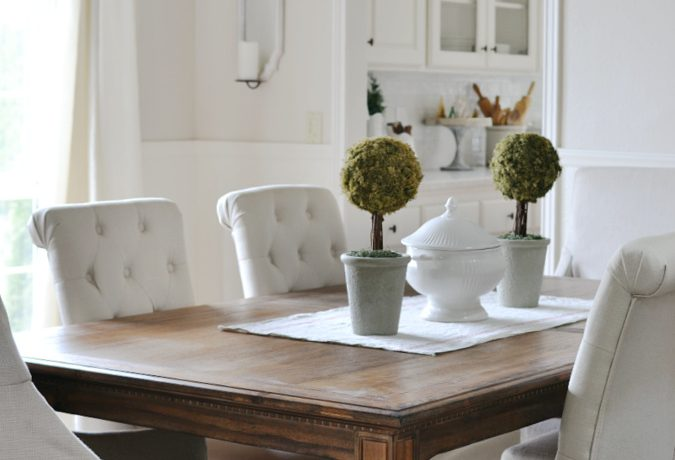 A New French Country Dining Table